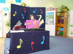 Koncert muzycznym absolwentów naszego przedszkola.
