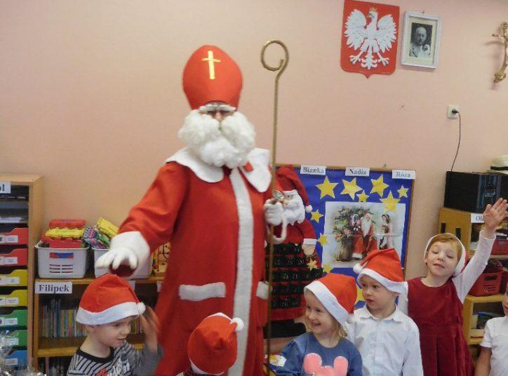 """Mikołaj u ,,Biedronek"""""""
