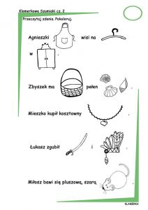 Kącik logopedyczny